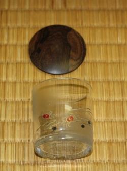 カニガラス茶器 茶道具